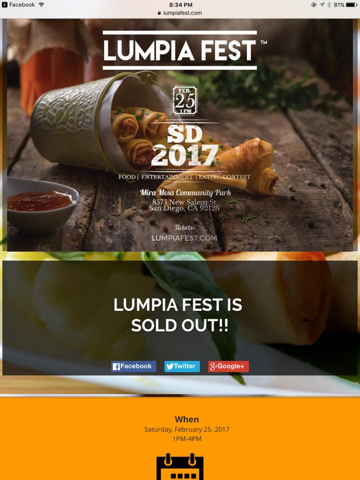 Lumpia Fest - Home | Facebook