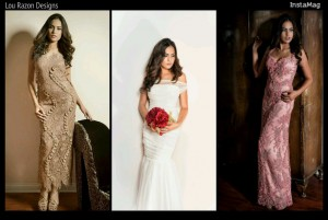 Chrystelle Volckmann ,  The New Face of Lou Razon Designs