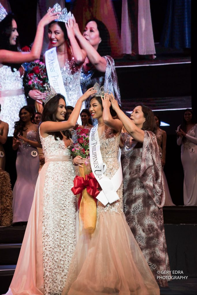 Gloria Diaz Crowns Miss Philippines USA 2016 |