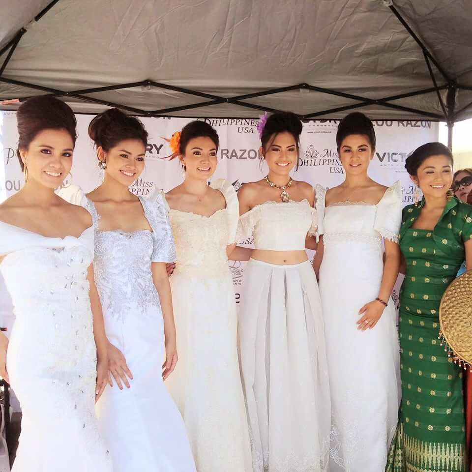 Highlights of the 2015 Filipiniana Fashion Show with Miss Philippines USA Beauties