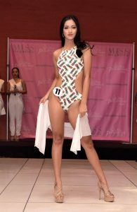 Stunning Candidates in the Swimsuit Competition